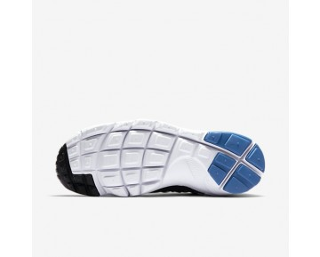 Nike Air Footscape Woven Nm Mens Shoes Black/White/Blue Jay Style: 875797-005