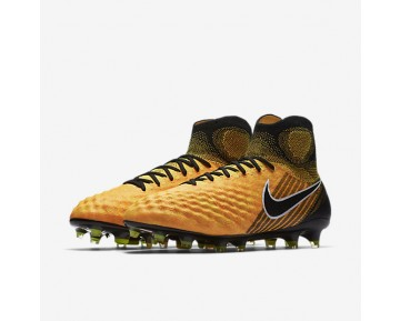 Nike Magista Obra Ii Fg Firm-Ground Football Boot Mens Shoes Laser Orange/White/Volt/Black Style: 844595-801
