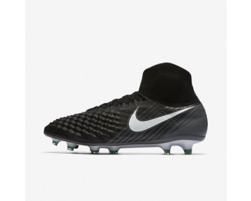 Nike Magista Obra Ii Fg Firm-Ground Football Boot Mens Shoes Black/Cool Grey/Stadium Green/White Style: 844595-002