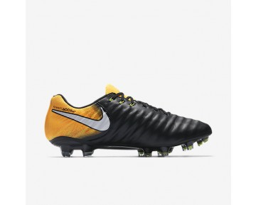 Nike Tiempo Legend Vii Fg Firm-Ground Football Boot Mens Shoes Black/Laser Orange/Volt/White Style: 897752-008