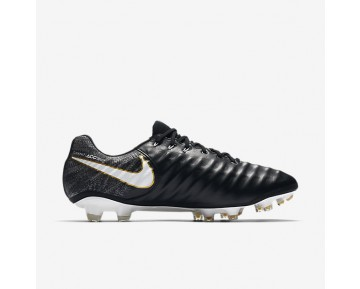 Nike Tiempo Legend Vii Fg Firm-Ground Football Boot Mens Shoes Black/Black/White Style: 897752-002