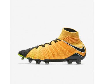 Nike Hypervenom Phantom 3 Df Fg Firm-Ground Football Boot Mens Shoes Laser Orange/Black/Volt/White Style: 860643-801