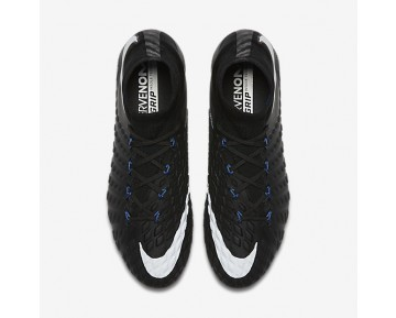 Nike Hypervenom Phantom 3 Df Fg Firm-Ground Football Boot Mens Shoes Black/Game Royal/White Style: 860643-002