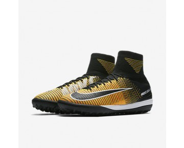 Nike Mercurialx Proximo Ii Tf Turf Football Mens Shoes Laser Orange/White/Volt/Black Style: 831977-801