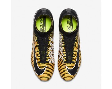 Nike Mercurial Superfly V Fg Firm-Ground Football Boot Mens Shoes Laser Orange/White/Volt/Black Style: 831940-801