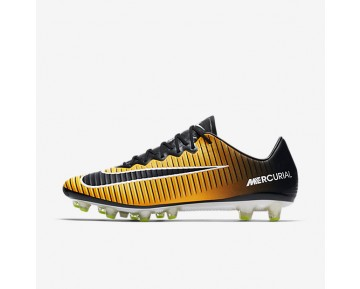 Nike Mercurial Vapor Xi Ag-Pro Artificial-Grass Football Boot Mens Shoes Laser Orange/White/Volt/Black Style: 831957-801