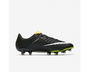 Nike Hypervenom Phantom 3 Fg Firm-Ground Football Boot Mens Shoes Laser Orange/Black/Volt/White Style: 852567-801