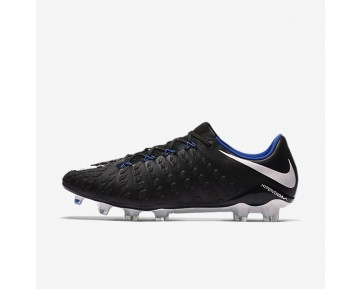 Nike Hypervenom Phantom 3 Fg Firm-Ground Football Boot Mens Shoes Black/Game Royal/White Style: 852567-002