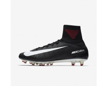 Nike Mercurial Superfly V Ag-Pro Artificial-Grass Football Boot Mens Shoes Black/Dark Grey/White Style: 831955-002