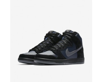 Nike Sb Dunk High Pro 'Gino' Skateboarding Mens Shoes Black/Obsidian/Pine Green/Light Graphite Style: 881758-001