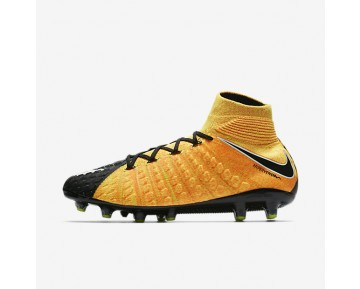 Nike Hypervenom Phantom 3 Df Ag Artificial-Grass Football Boot Mens Shoes Laser Orange/Black/Volt/White Style: 852550-801