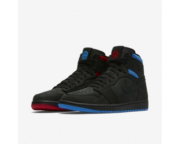 Air Jordan 1 Retro High Og Q54 Mens Shoes Black/University Red/Italy Blue Style: AH1040-054