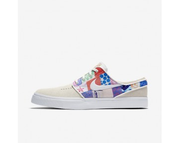 Nike Sb Zoom Stefan Janoski Skateboarding Mens Shoes Sail/Multi-Colour/Metallic Gold/White Style: 333824-119
