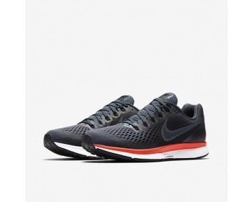 Nike Air Zoom Pegasus 34 Running Mens Shoes Blue Fox/Bright Crimson/White/Black Style: 880555-403