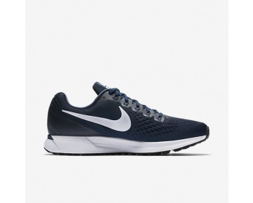 Nike Air Zoom Pegasus 34 Running Mens Shoes Obsidian/Neutral Indigo/Blue Recall/White Style: 880555-401