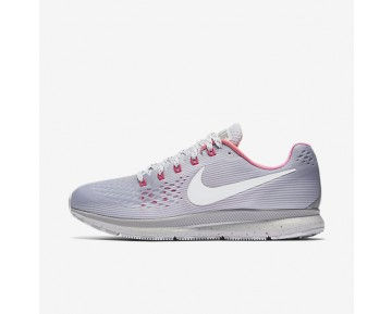 Nike Air Zoom Pegasus 34 Betrue Running Mens Shoes Wolf Grey/Pink Blast/Pure Platinum/White Style: 899475-001