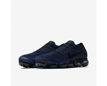Nike Air Vapormax Flyknit Running Mens Shoes College Navy/Game Royal/Deep Royal Blue/Black Style: 849558-400