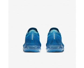 Nike Air Vapormax Flyknit Running Mens Shoes Blue Orbit/Glacier Blue/Gamma Blue/Blue Orbit Style: 849558-402