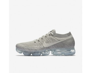 Nike Air Vapormax Flyknit Running Mens Shoes Pale Grey/Sail/Light Charcoal/Black Style: 849558-005