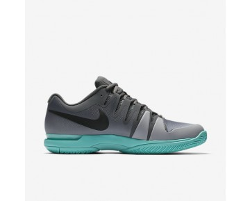 Nikecourt Zoom Vapor 9.5 Tour Tennis Mens Shoes Dark Grey/Aurora/Wolf Grey/Black Style: 631458-008