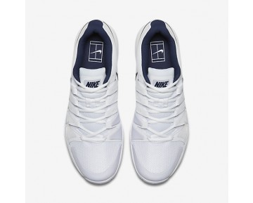 Nikecourt Zoom Vapor 9.5 Tour Tennis Mens Shoes White/Binary Blue Style: 631458-104