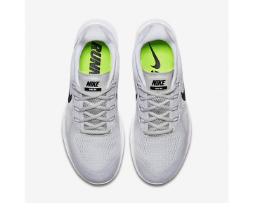 Nike Free Rn 2017 Running Mens Shoes White/Pure Platinum/Black Style: 880839-101