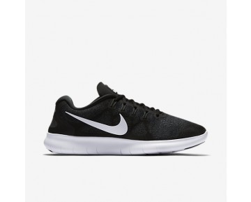 Nike Free Rn 2017 Running Mens Shoes Black/Dark Grey/Anthracite/White Style: 880839-001