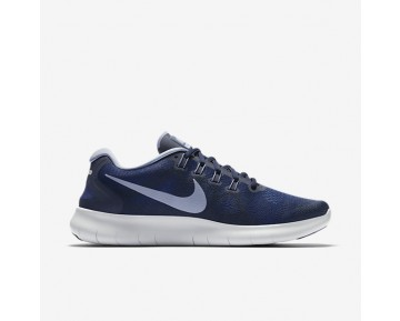 Nike Free Rn 2017 Running Mens Shoes Binary Blue/Obsidian/Gym Blue/Dark Sky Blue Style: 880839-404