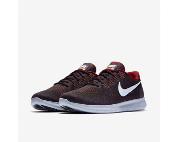 Nike Free Rn 2017 Running Mens Shoes Black/Tough Red/Port Wine/Hydrogen Blue Style: 880839-007