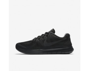 Nike Free Rn 2017 Running Mens Shoes Black/Dark Grey/Cool Grey/Anthracite Style: 880839-003