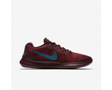 Nike Free Rn 2017 Running Mens Shoes Cedar/Night Maroon/Industrial Blue Style: 880839-600
