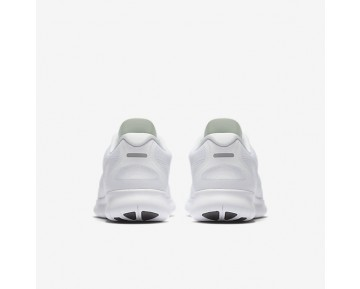 Nike Free Rn 2017 Running Mens Shoes White/Black/Pure Platinum/White Style: 880839-100
