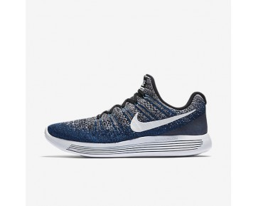 Nike Lunarepic Low Flyknit 2 Running Mens Shoes Photo Blue/Black/Deep Royal Blue/White Style: 863779-007
