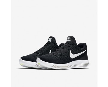 Nike Lunarepic Low Flyknit 2 Running Mens Shoes Black/Anthracite/White Style: 863779-001