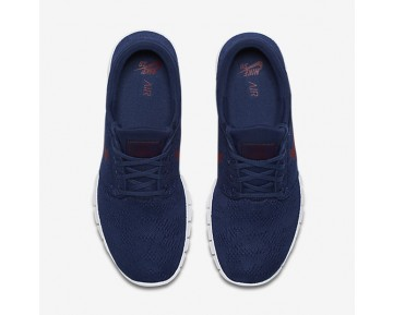Nike Sb Stefan Janoski Max Skateboarding Mens Shoes Binary Blue/Gum Light Brown/Team Red Style: 631303-469