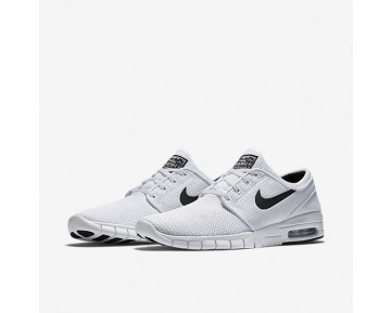 Nike Sb Stefan Janoski Max Skateboarding Mens Shoes White/Black Style: 631303-100