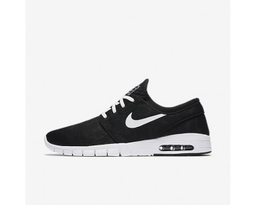 Nike Sb Stefan Janoski Max Skateboarding Mens Shoes Black/White Style: 631303-010