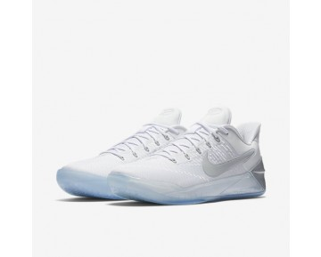 Kobe A.D. Basketball Mens Shoes White/Chrome Style: 852425-110