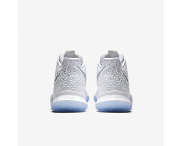 Kyrie 3 Basketball Mens Shoes White/Chrome/Chrome Style: 852395-103