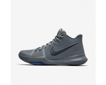 Kyrie 3 Basketball Mens Shoes Cool Grey/Pure/Polarised Blue/Midnight Navy Style: 852395-001