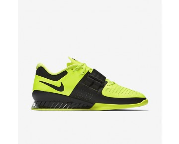 Nike Romaleos 3 Weightlifting Mens Shoes Volt/Black Style: 852933-700