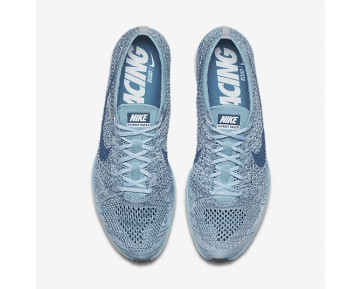 Nike Flyknit Racer Mens Shoes Mica Blue/White/Legion Blue Style: 526628-102