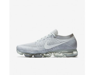 Nike Air VaporMax Flyknit Mens Shoes Pure Platinum/Wolf Grey/White Style: 849558-004