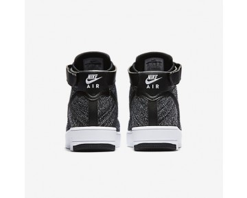 Nike Air Force 1 Ultra Flyknit Mens Shoes Black/White/Black Style: 817420-004
