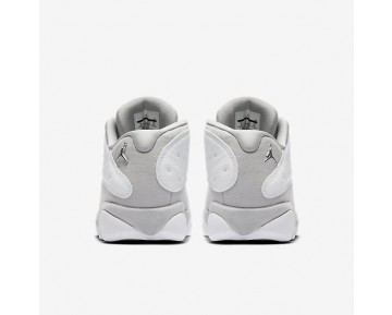 Air Jordan 13 Retro Low Mens Shoes White/Pure Platinum/Metallic Silver/Metallic Silver Style: 310810-100