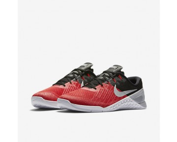 Nike Metcon 3 Mens Shoes University Red/Black/White/Wolf Grey Style: 852928-600