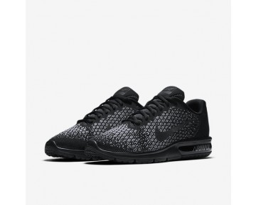 Nike Air Max Sequent 2 Mens Shoes Black/Dark Grey/Wolf Grey/Metallic Hematite Style: 852461-001