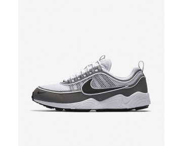 Nike Air Zoom Spiridon Mens Shoes White/Light Ash/Black Style: 849776-101