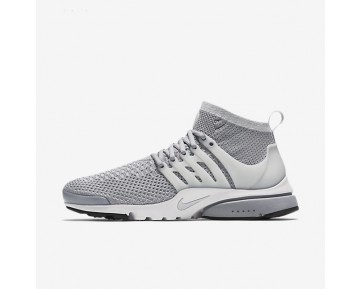 Nike Air Presto Ultra Flyknit Mens Shoes Wolf Grey/White/Black/Pure Platinum Style: 835570-002