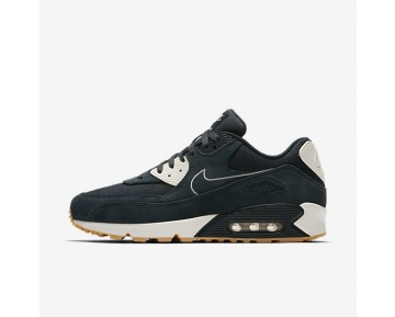 Nike Air Max 90 Premium Mens Shoes Armoury Navy/Sail/Gum Yellow/Armoury Navy Style: 700155-403